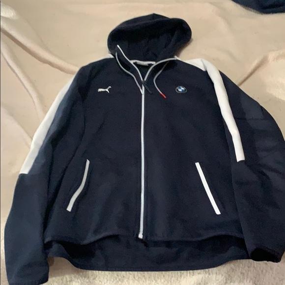 PUMA BMW Motorsport hoodie sweat jacket